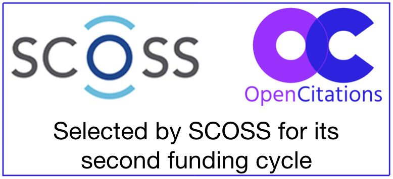 SCOSS + OpenCitations